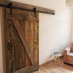 Schuifdeursysteem oude deur