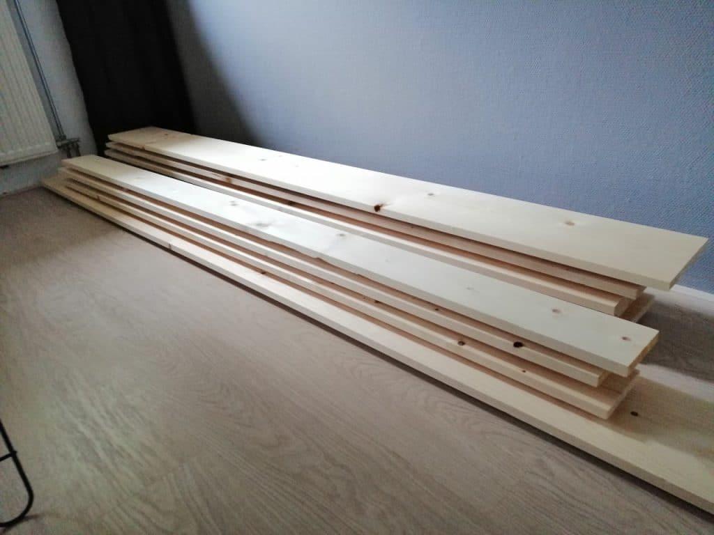 hout drogen loftdeur