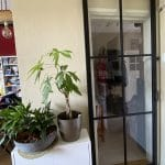 Stalen schuifdeur 6 vlakken (HELDER GLAS) + Systeem photo review