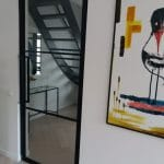 Stalen binnendeur 3 vlaks