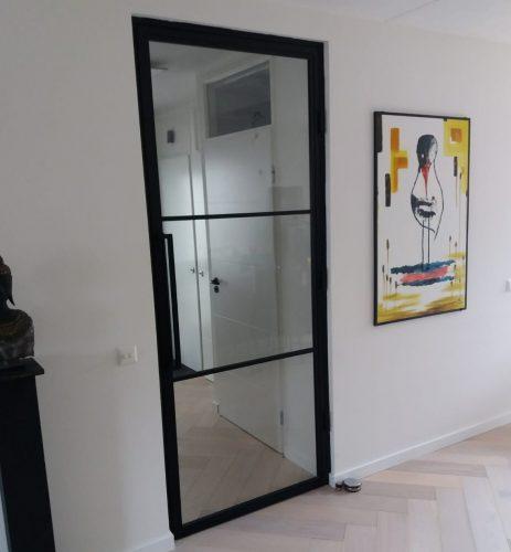 Stalen binnendeur - Scharnierdeur 211,5 x 83 + kozijn photo review